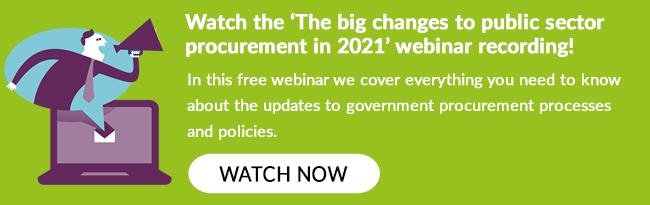 Procurement Changes 2021
