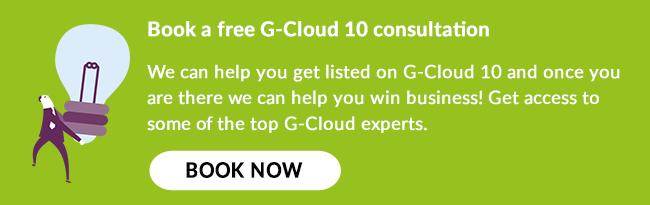 G-Cloud 10 listing consultation