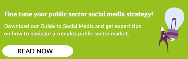 public sector social media