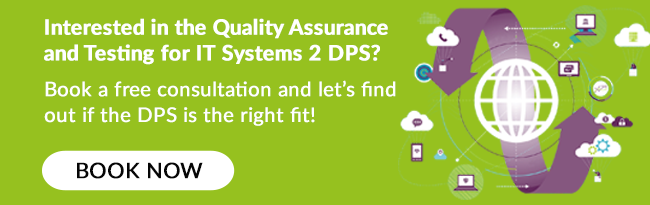 Book a call to find out more about the QA & Testing DPS!