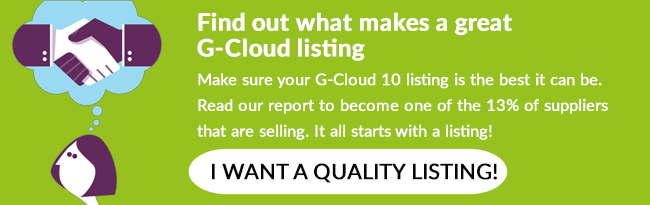 Download our listing on G-Cloud 10 best practice guide