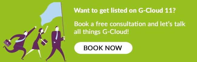 Book a free G-Cloud 11 consultation!
