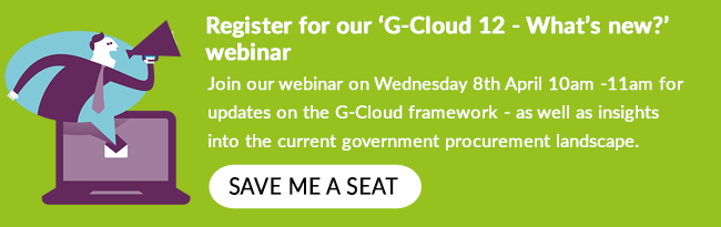 G-Cloud 12 updates