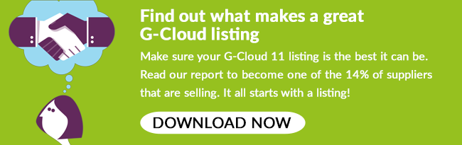 Download our G-Cloud 11 listing best practice guide!