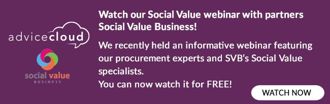 Social Value Webinar Recording