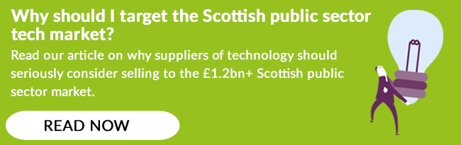 Scottish public sector tech market