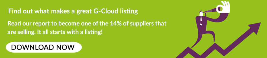 Download our G-Cloud listing best practice guide!
