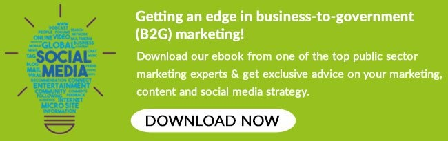 Download our 'Getting an edge in business-to-government (B2G) marketing eBook!