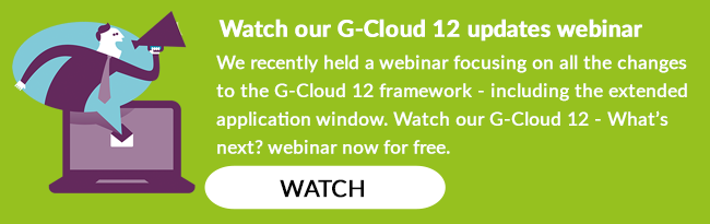 G-Cloud 12 updates