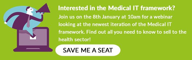 Join our Medical IT webinar on the 17th January!