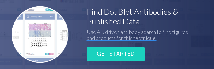 Find Dot Blot Antibodies &  Published Data Use A.I. driven antibody search to find figures  and products for this technique. Get Started