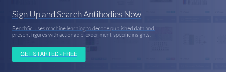 Sign Up and Search Antibodies Now BenchSci uses machine learning to decode  published data and  present figures with actionable, experiment-specific insights. Get started -  free