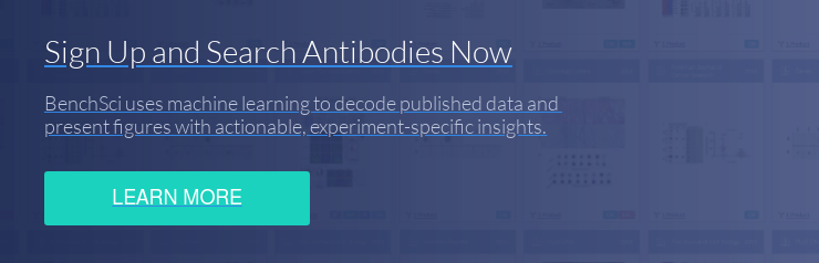 Sign Up and Search Antibodies Now BenchSci uses machine learning to decode  published data and  present figures with actionable, experiment-specific insights. Learn More