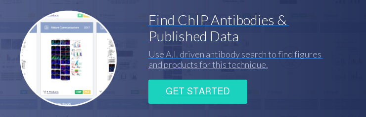 Find ChIP Antibodies &  Published Data Use A.I. driven antibody search to find figures  and products for this technique. Get Started
