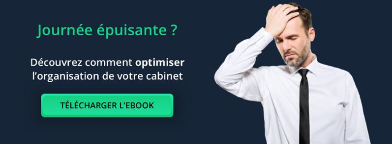 Ebook comment optimiser l'organisation de votre cabinet