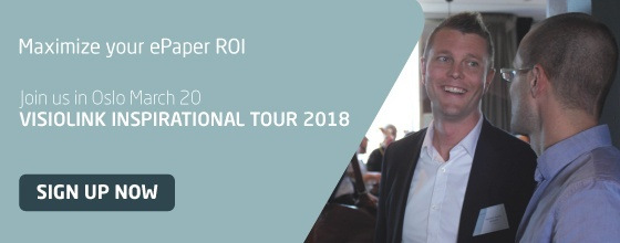 Sign up and join Visiolink's Inspirational Tour 2018