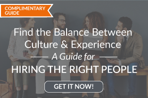 Find the Balance Between Culture and Experience
