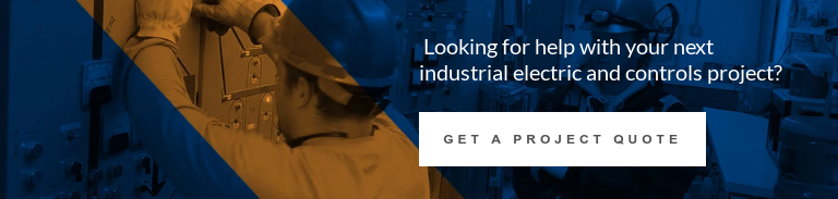 Looking for help with your next industrial electric and controls project?  Get a Project Quote