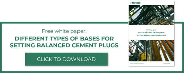 Download free white paper: Different types of bases for setting balanced cement plugs