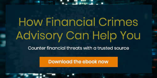 how financial crimes advisory can help you cta