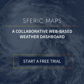 Get a free trial of Sferic Maps to help track Hurricane Lane