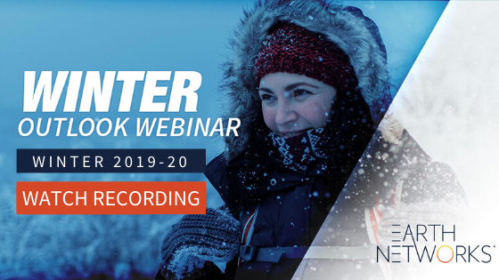 Click here to watch the winter outlook webinar recording and see what your winter forecast is for 2019-20!