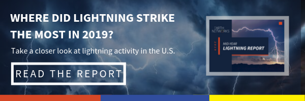 Where did lightning strike the most in 2019? Take a closer look at lightning activity in the U.S. >Read the Report<