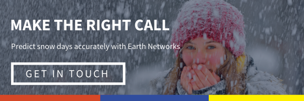 Click here to get the tools to make the right call and predict snow days accurately with tools from Earth Networks. Get in touch and one of our weather experts will build the perfect toolkit for your school