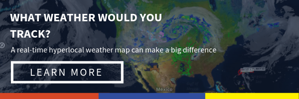What weather would you track? Learn more about Sferic Maps: Our real-time, hyperlocal weather map