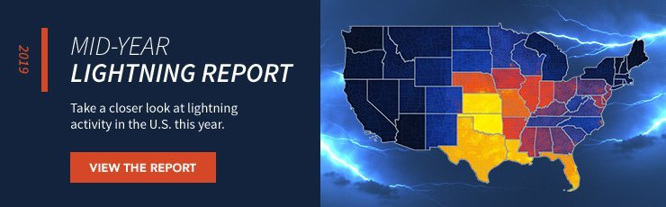 Earth Networks   2019 Mid-Year Lightning Report