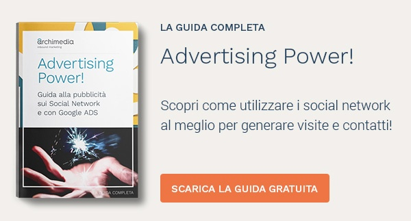 Scarica la guida Advertising