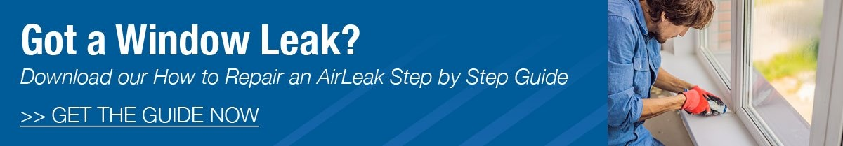 Download our air leak guide