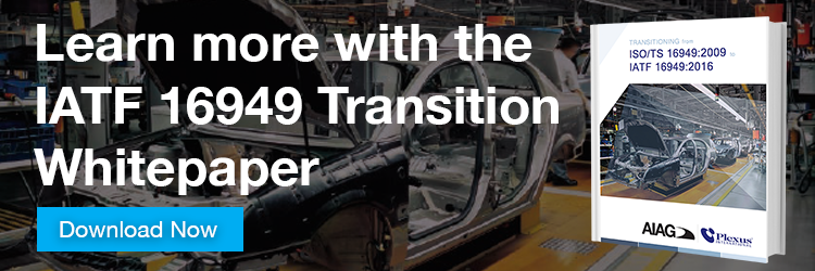 IATF 16949 Transition Whitepaper