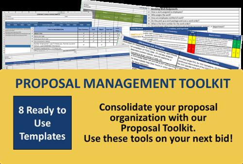 download proposal management toolkit
