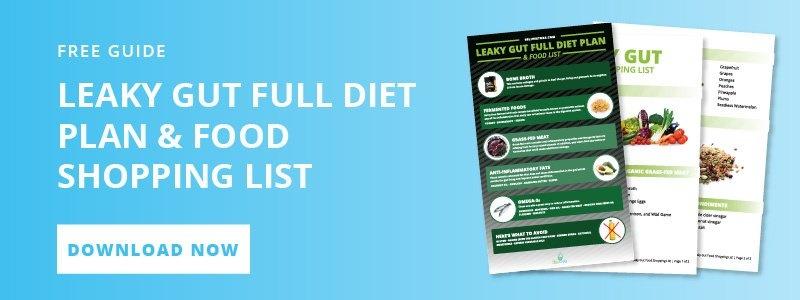 BeLive Store Leaky Gut Full Diet Plan & Shopping List CTA