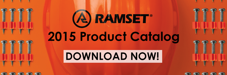 Ramset 2015 Product Catalog CTA