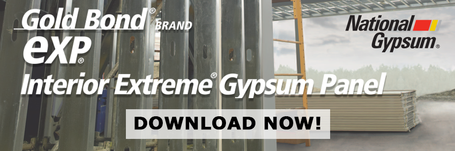 National Gypsum Interior Extreme Gypsum Panel Call To Action
