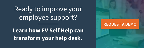Improve your employee experience with the right help desk software features