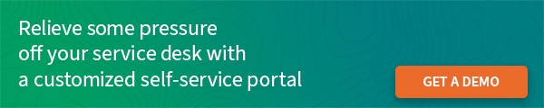 Customized self-service portal