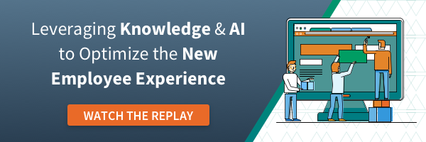 Leveraging Knowledge & AI o Optimize the New Employee Experience
