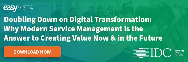 IDC Research Study Doubling Down on Digital Transformation