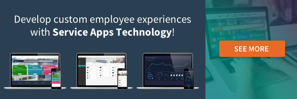Improve your employee experience with Service Apps Technology and Micro Apps