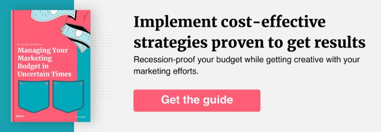 Cost-effective marketing strategies
