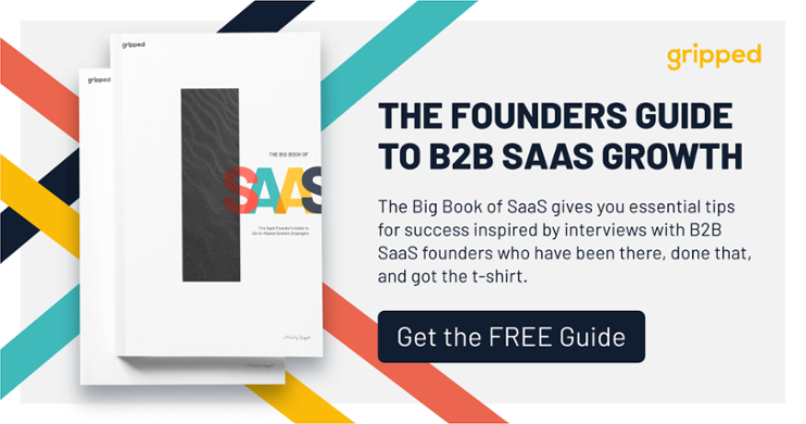 e-book about how to grow your SaaS business