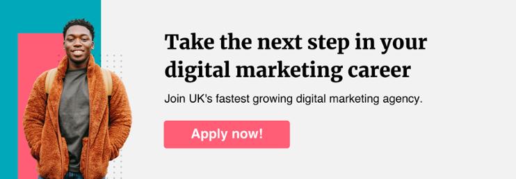 Gripped digital marketing career CTA banner