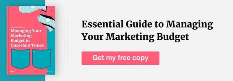 marketing budgets guide CTA