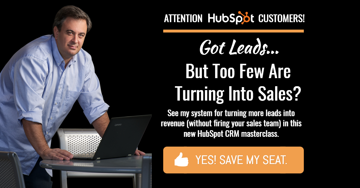 Sign-Up For Our New HubSpot CRM Masterclass