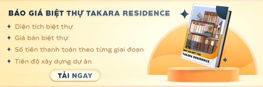 CTA báo giá biệt thự Takara Residence