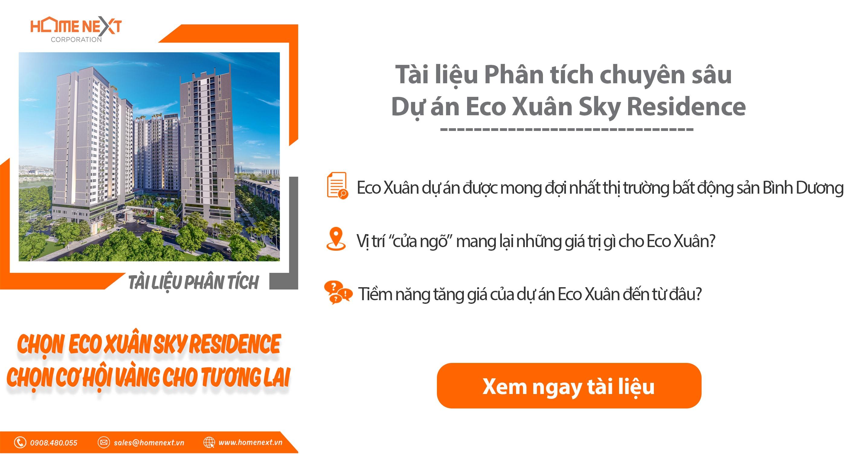 Dự án căn hộ Eco Xuân
