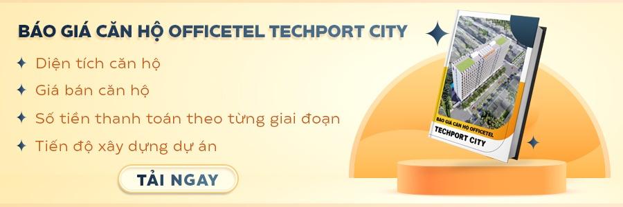 CTA báo giá căn hộ Techport City Bình Dương